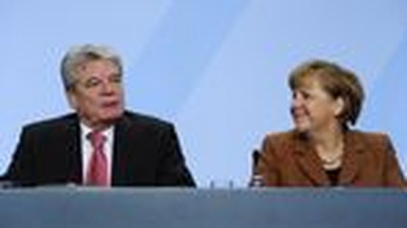 Gauck und Merkel: Die Kanzlerin ist Charismatikern gegenüber skeptisch