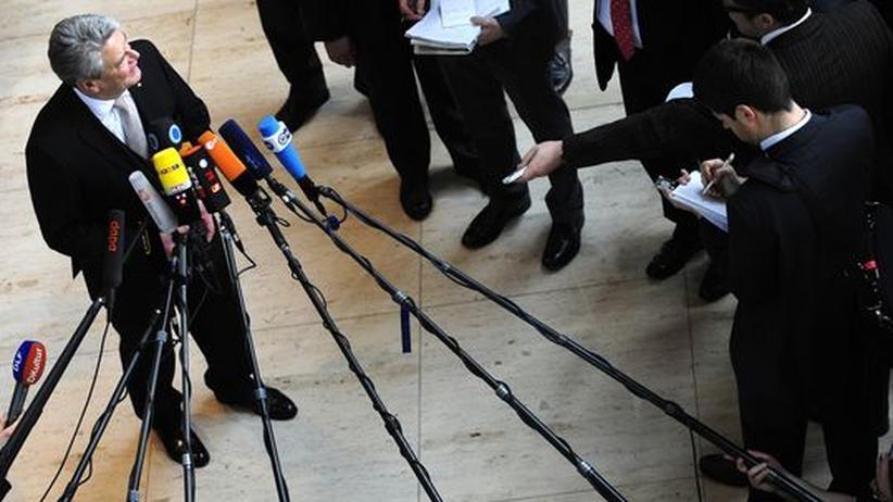 Bundespräsidentenwahl: Unser Gauck, eure Abweichler