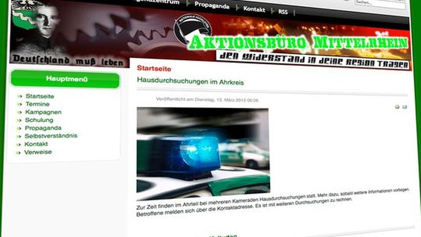 Rechtsextremismus: Großrazzia gegen Neonazis in vier Bundesländern