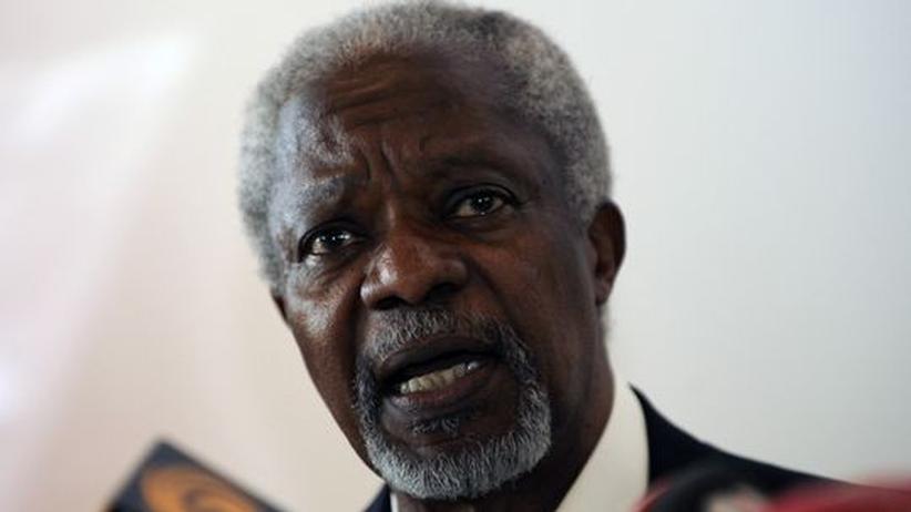 Vereinte Nationen: Annan wirft syrischem Regime falsches Spiel vor