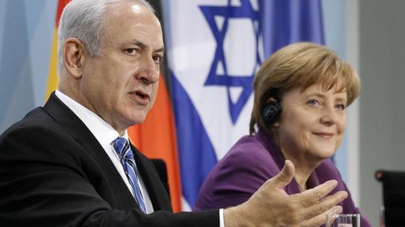 Israel-Debatte: Angela Merkel mit Israels Premierminister Benjamin Netanjahu (Archivbild)
