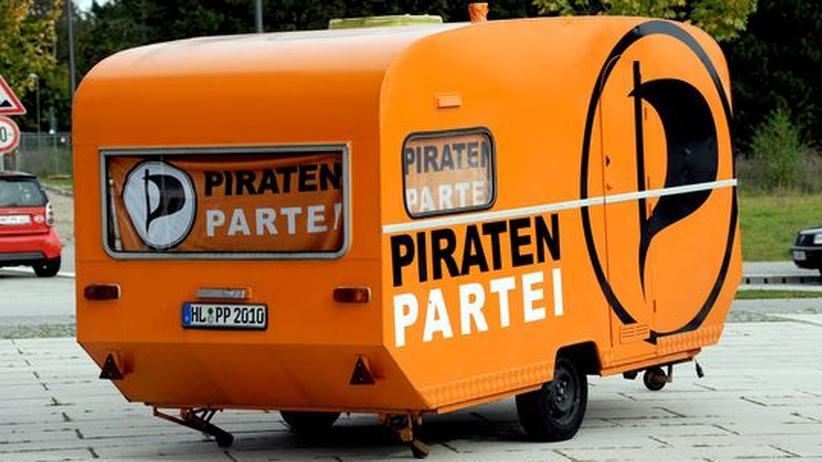 Wahltrend: Piraten nur noch einen Punkt hinter den Grünen