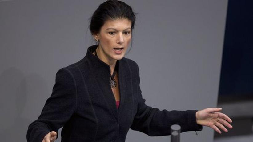 """Sahra Wagenknecht: """"Wenn wir uns der SPD anbiedern, machen wir uns überflüssig"""""""