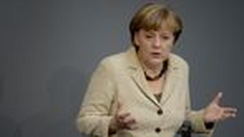 """Regierungserklärung Merkel: """"Wachstum auf Pump holt die Krise zurück"""""""