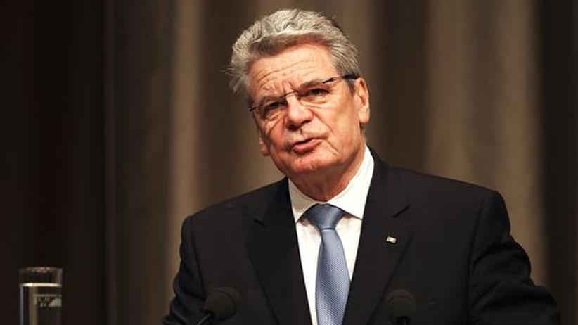 Bundespräsident: Gauck rückt von Positionen Merkels und Wulffs ab