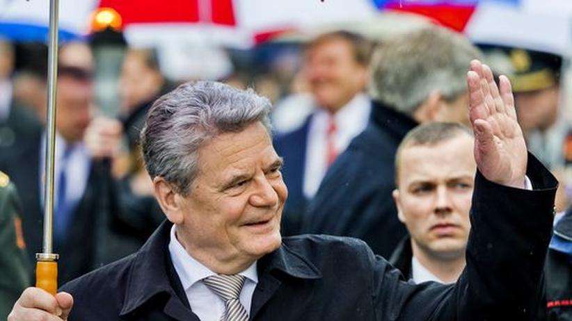 Auslandsreise: Gaucks Generalprobe