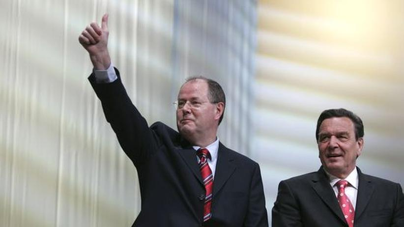 Sozialdemokraten: Altkanzler Schröder empfiehlt Steinbrück als Kanzlerkandidaten