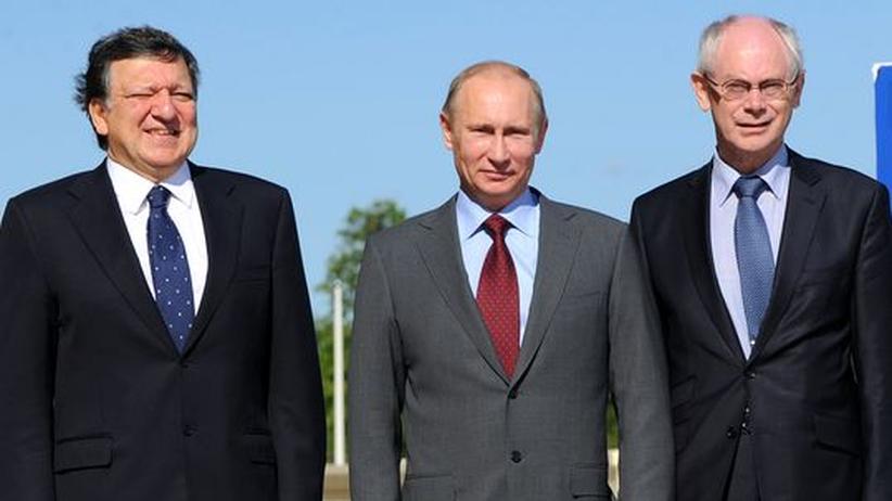 EU-Russland-Gipfel: Putin widersetzt sich schärferem Kurs gegen Syrien