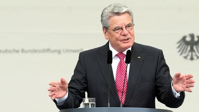 Subventionspolitik: Gauck warnt vor Planwirtschaft bei Energiewende