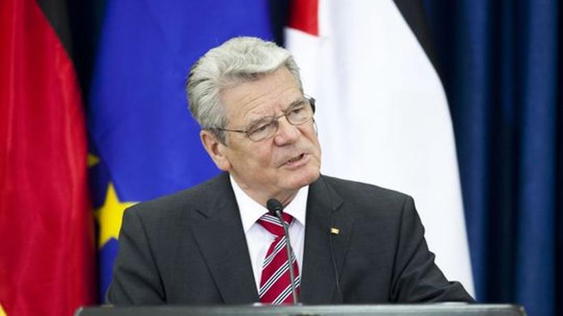 Bundespräsident: Zuviel Gauck pro Monat