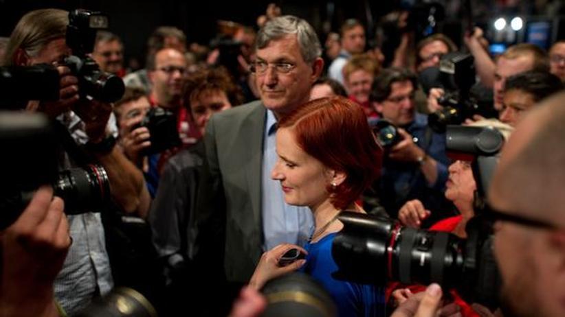 Neue Linke-Spitze: Die neue Linken-Doppelspitze: Katja Kipping und Bernd Riexinger