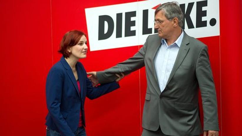 Neue Spitze: Die Führung der Linken zeigt sich zuversichtlich