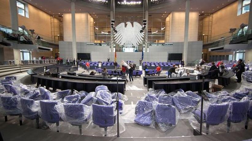 Bundestag: Verfassungsgericht verwirft schwarz-gelbe Wahlreform