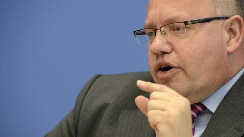 Bundesumweltminister Peter Altmaier (Archiv)