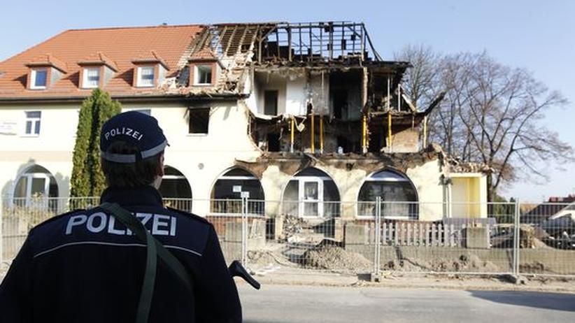 NSU-Mordserie: Das zerstörte Haus der mutmaßlichen NSU-Terroristen in Zwickau (Archivbild)