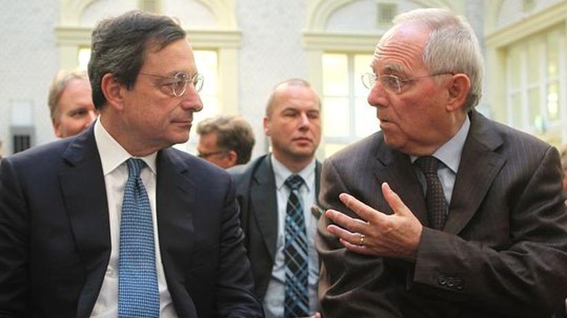 Euro-Krise: EZB-Chef Draghi zieht Bundesregierung auf seine Seite