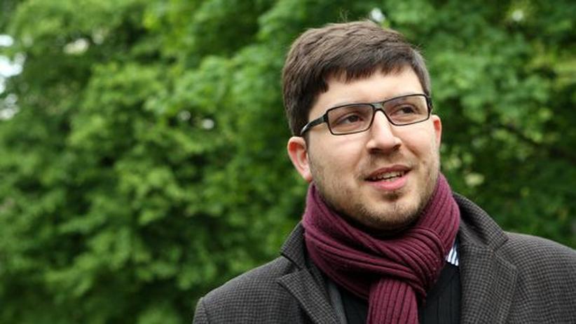 Politisches Engagement: Christopher Lauer, Fraktionschef der Piraten im Berliner Abgeordnetenhau