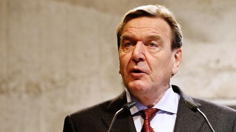 Griechenland-Interview: Schröder zeigt, wie man zu Europa spricht