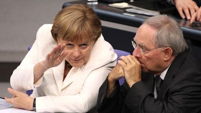 Griechenland: Psst, sie rettet wirklich!