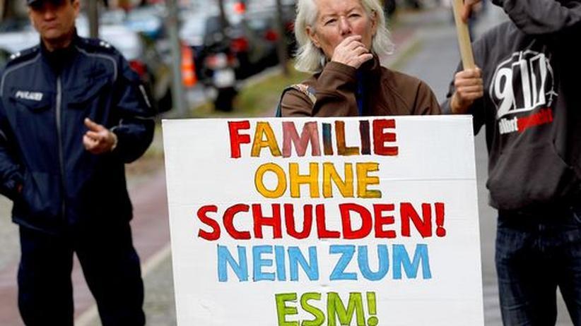 Verfassungsklage ESM: Mehrheit der Deutschen hofft auf Sieg der Euro-Gegner