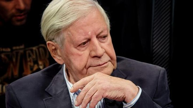 Euro-Schuldenkrise: Helmut Schmidt wirft Merkel nationalen Egoismus vor