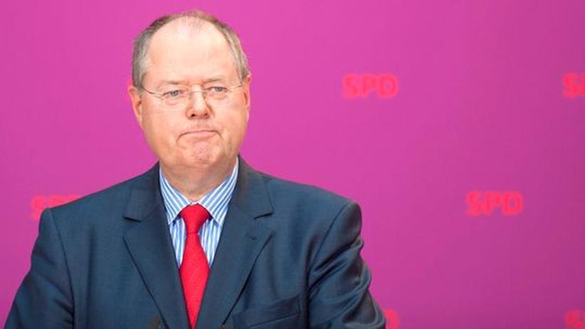 Steinbrück-Kandidatur: Ein Peer, sie zu einen