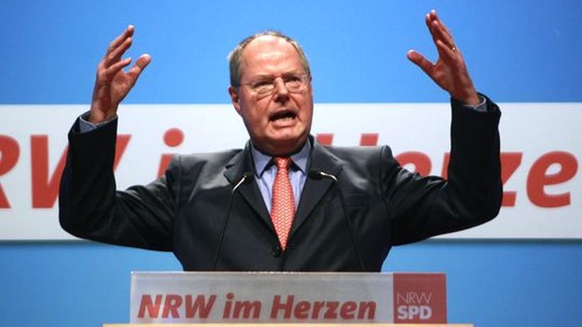 SPD-Kanzlerkandidat: Steinbrück verlangt mehr Beinfreiheit von seiner Partei