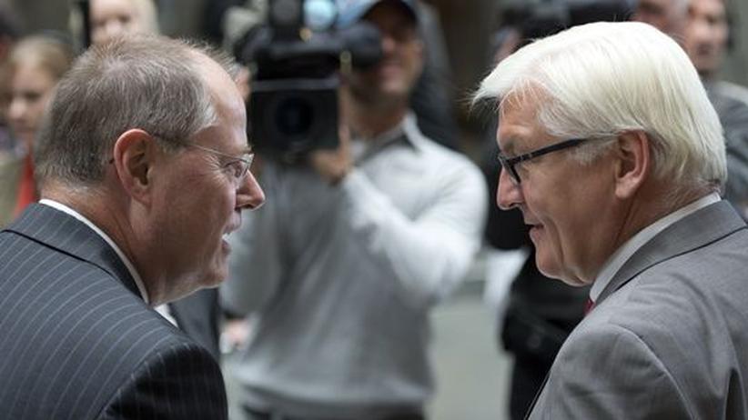 SPD-Kanzlerkandidat: Steinmeier will nicht, Steinbrück soll es machen