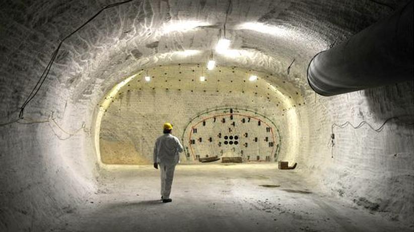 Atommüll: Bislang einziger möglicher Standort für ein Endlager: Der Salzstock in Gorleben