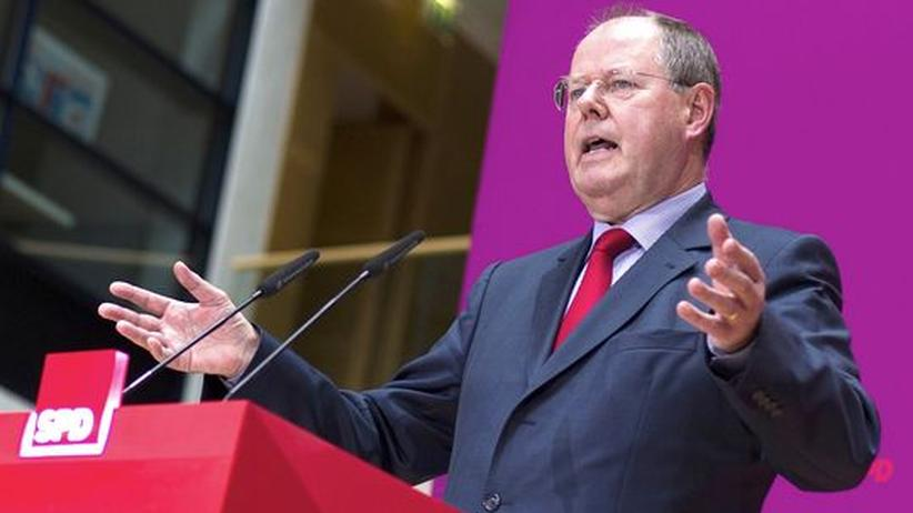 Peer Steinbrück: Der designierte SPD-Kanzlerkandidat Peer Steinbrück