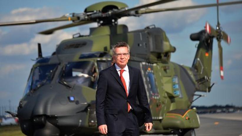 Kosovo: De Maizière sieht sich von Nato-Partnern im Stich gelassen