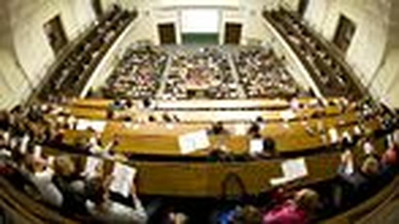 Universitätspräsidenten: Manager contra Moderator