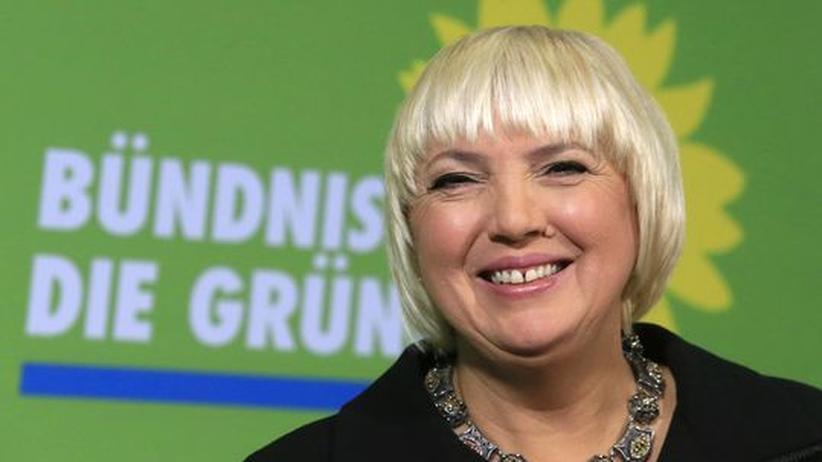 Grünen-Vorsitz: Grünes Lob und schwarzer Spott für Roth