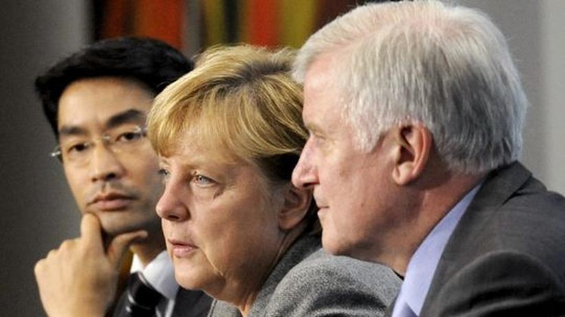 Koalitionsgipfel: Schwarz-Gelb wickelt sich ab