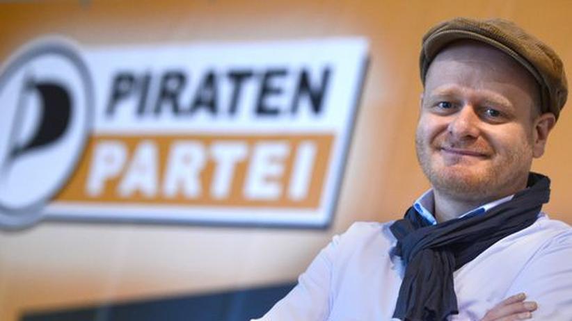 """Piratenchef Bernd Schlömer: """"Ich gehe nicht, da bin ich widerborstig"""""""