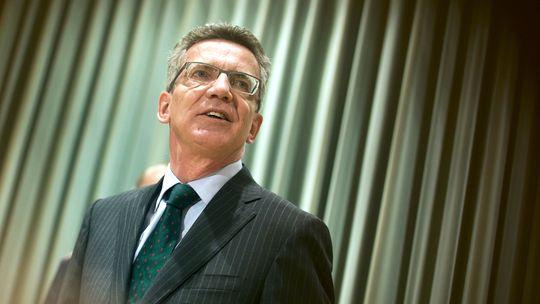 Verteidigungsminister de Maizière Mitte Oktober auf einer Konferenz der Bundeswehr in Berlin