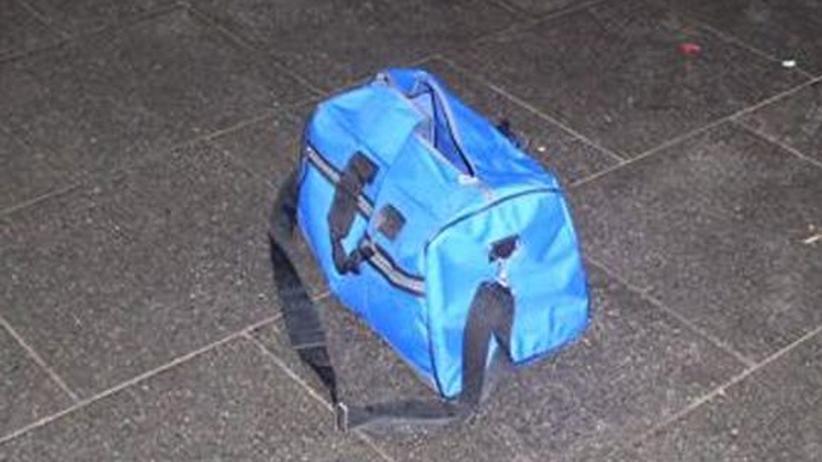 Bonner Bombe: Die Tasche, die im Bahnhof von Bonn gefunden wurde