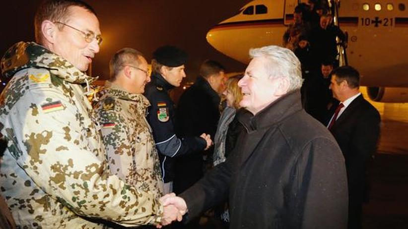 Bundespräsident: Gauck lobt Einsatz deutscher Afghanistan-Soldaten