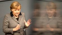 Angela Merkel erklärt im Bundestag ihre Europapolitik vor dem Gipfeltreffen in Brüssel.