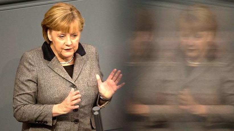 Regierungserklärung: Merkel mahnt Europa zu mehr Wettbewerbsfähigkeit