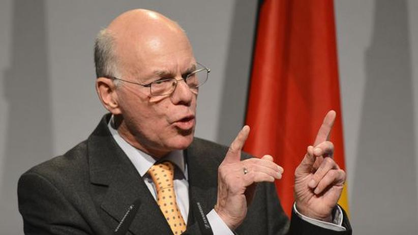 "Parlamentspräsident Lammert: ""Das NPD-Verbotsverfahren ist nicht durchdacht"""
