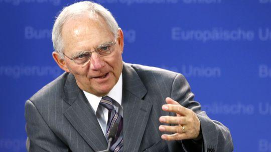 Finanzminister Wolfgang Schäuble (Archiv)