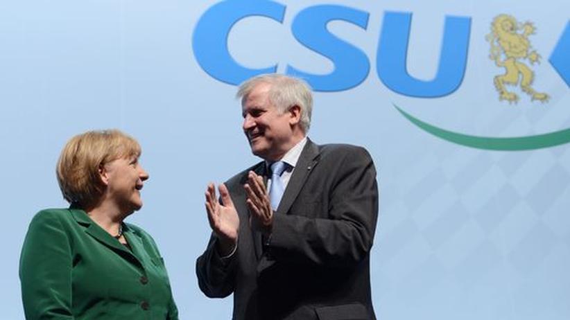 Bundestagswahl 2013: Seehofer setzt Union Wahlziel von 40 Prozent