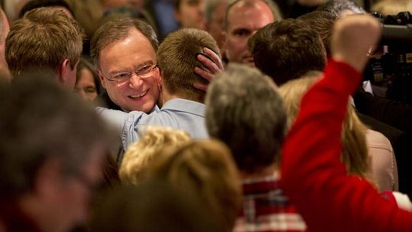 Landtagswahl: Rot-Grün gewinnt knapp in Niedersachsen