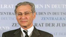 Der Vizepräsident des Zentralrates der Juden in Deutschland, Salomon Korn