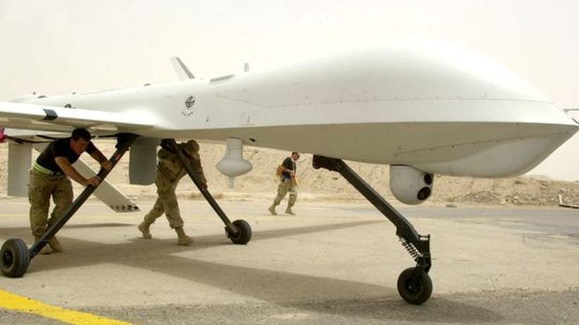 Bundeswehr: Predator-Drohne der US-Luftwaffe im Irak (Archivbild)