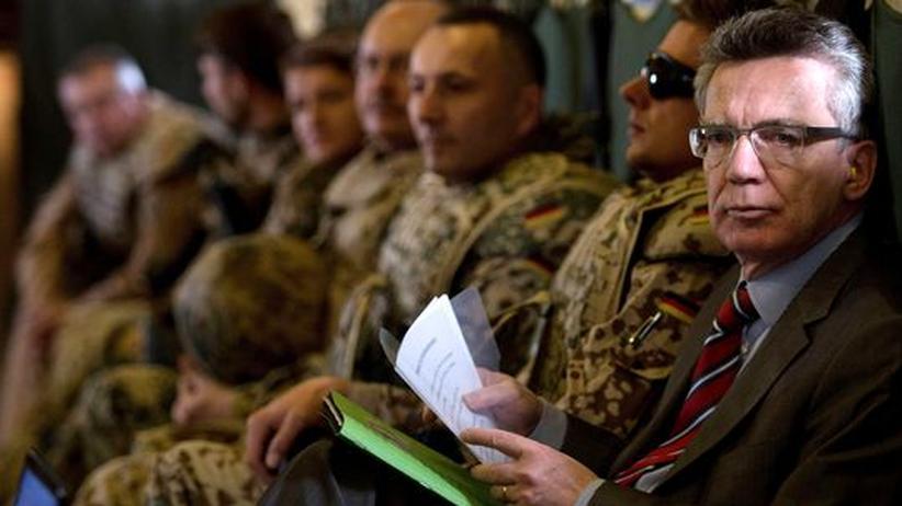 Bundeswehr: De Maizière sind seine Soldaten zu bequem