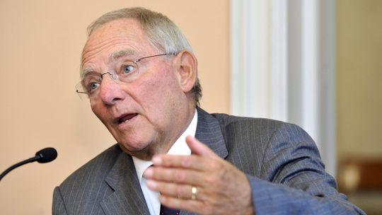Finanzminister Wolfgang Schäuble (Archivbild)