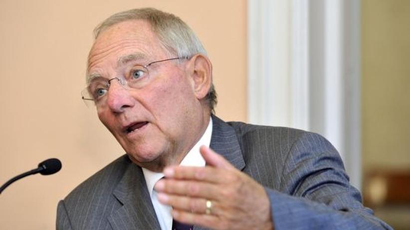 Haushaltspläne: Schäuble will 2014 fünf bis sechs Milliarden Euro sparen
