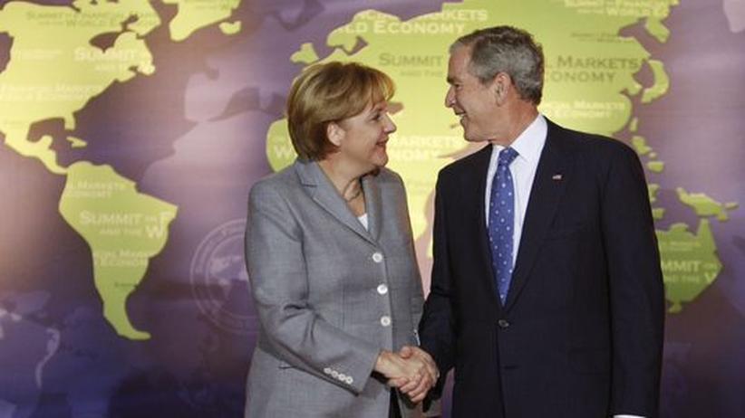 US-Kolumne: Merkel und Bush – Genies oder Schurken?